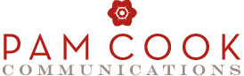 Pam Cook Communications logo
